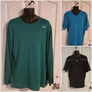 Lot Of 3 Nike Dri-Fit T Shirts Size XL